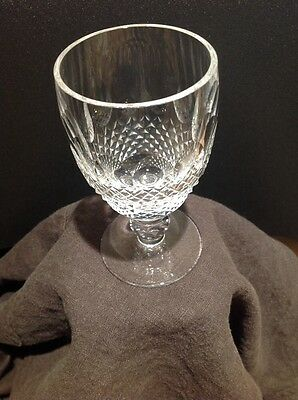 Waterford crystal 'Colleen' white wine glass