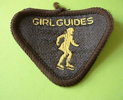 Old type Brownie Guide Badge - Skater