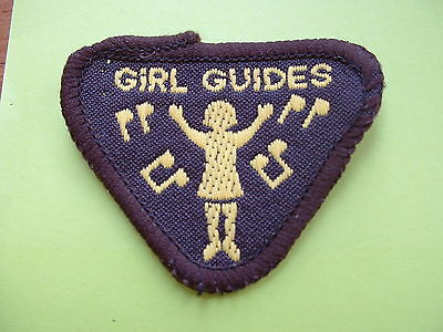 Old type Brownie Guide Badge - Music Lover