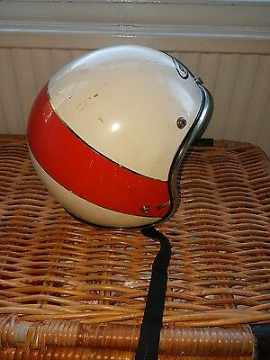 Griffin vintage open face helmet size large
