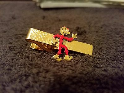 Vintage 1950's Reddy Kilowatt Advertising Tie Clip