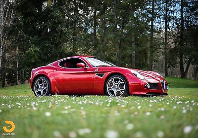 2008 Alfa Romeo 8C Competizione Coupe 2-Door 2008 Alfa Romeo 8C Competizione Coupe, One Owner, Documents, Luggage, 1 of 500
