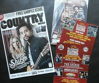 The Shires - Country Mag Feature & Festival Ephemera