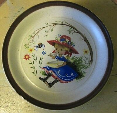 Decorative Plate - Heather (The Girl with a Blue Dress) - Marked Stafford
