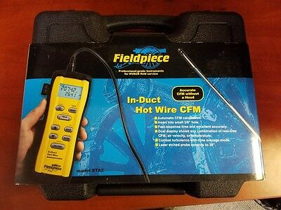 Fieldpiece Sta2 In-Duct Hot Wire Anemometer. Brand New,never Used