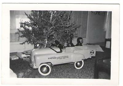 NO. 742 JET FLOW DRIVE DUMP TRUCK PEDAL CAR by Christmas Tree Vintage Photo SD-4