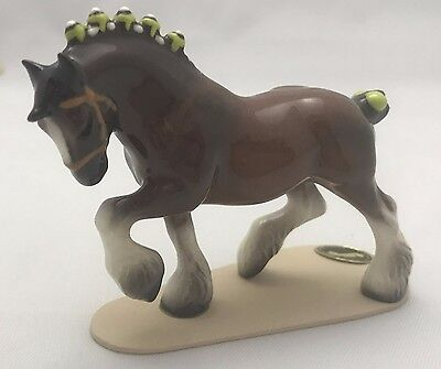 Hagen-Renaker Horse ? Clydesdale ? Draft ?  YOU TELL ME!!!