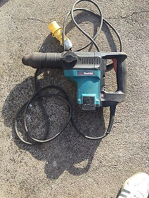 makita hr4000c concrete breaker site drill large size bits sds max 110v