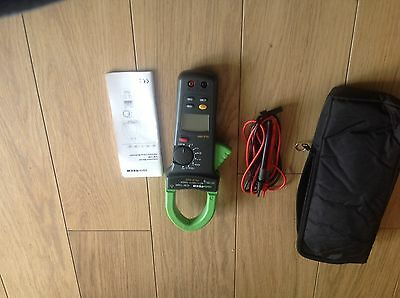 Dual Hall Sensor LCD Display with Buzzer ISO-TECH ICM36RII 600A Clampmeter