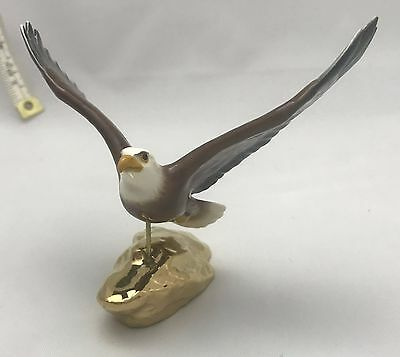 Hagen-Renaker Eagle on Gold Rock