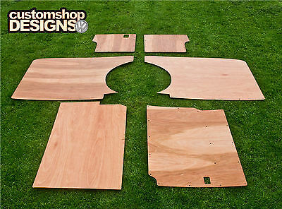 VW T4 Transporter SWB Camper/Day Van Interior Panels / 3.6mm Ply lining Trim Kit