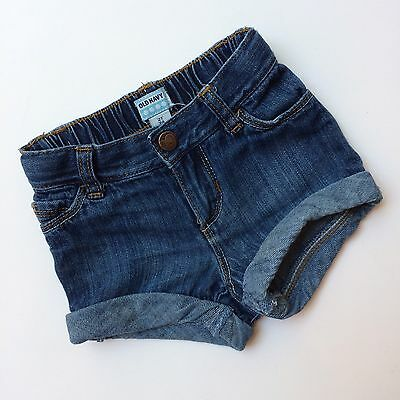 Old Navy Cuffed Denim Shorts, Toddler Girl Size 2T