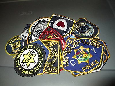 31 Different US Cities Police SCHOOL Patches