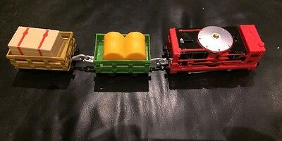 Trackmaster Thomas And Friends Trains Gylnn And Cargo Trucks