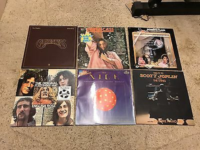 Vinyl Record Collection - Random Assortment Of 21 Records.