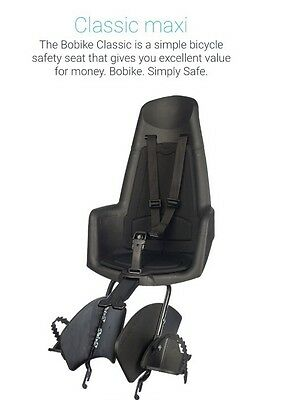 Child Baby & Toddler Bike Carrier - Bobike - Classic Maxi - Child Bike Seat