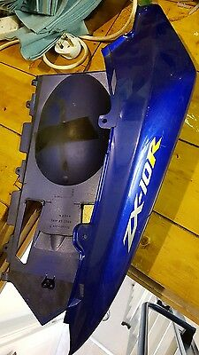 2004 zx10r seat unit, 2005 fairing panel 04 05 right hand
