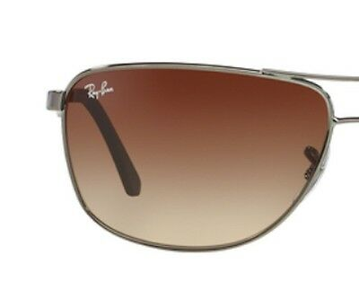 RAY BAN RB 3506 gradient brown gradient original replacement lenses -lenti 3506
