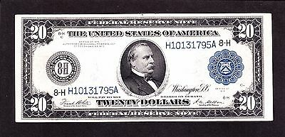 US 1914 $20 FRN St Louis District FR 995 VF-XF (-795)