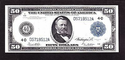 US 1914 $50 FRN Cleveland District FR 1039a XF (-512)