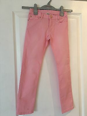 Girls H And M Pink Jeans Size 7-8
