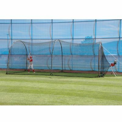 Backyard Batting Cage Net Complete Practice System Baseball Softball Training