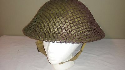 WW2 WWII Canadian Dishpan Mark II Helmet