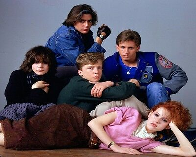 8X10 The Breakfast Club GLOSSY PHOTO photograph picture cast ringwald estevez