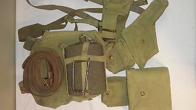 WW2 WWII Canadian British Pattern 37 Webbing Officer 1940
