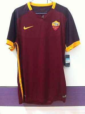 Camiseta Roma Nike Authentic Shirt Player Issue Match  Maglia Gara  L