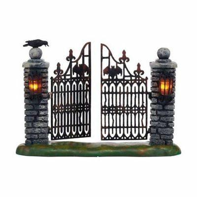 New Dept56 Spooky Wrought Iron Gate