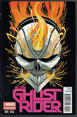 GHOST RIDER  1  NM/9.4  -  Rare 1 in 50 variant!