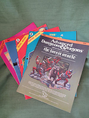 5 1st Edition Dungeons and Dragons Modules