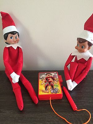 Elf Doll Props Can Sit On The Shelf Operation Game