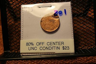 Very Nice Off Center Lincoln Cent