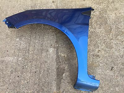 Genuine Renault Clio MK3 Front Wing Blue TERNA Left Side 2005-2009