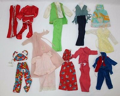 Vintage Barbie 60s Clothing Lot Blemished Dress Pants Outfit Tailored Handmade