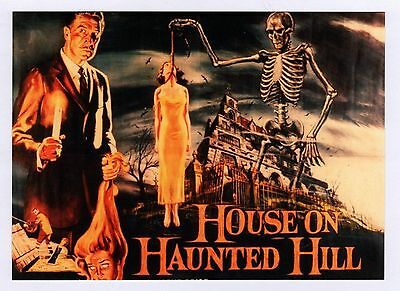 House on Haunted Hill - Movie Poster Postcard