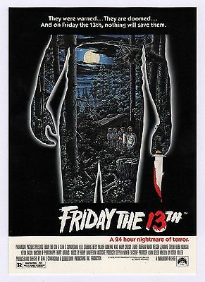 40x Friday The 13th Movie Poster - Postcard (Lot of 40 Postcards)