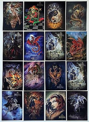 16x Alchemy Postcards (Lot of 16 All Different Postcards)