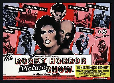 The Rocky Horror Picture Show - Movie Poster Postcard