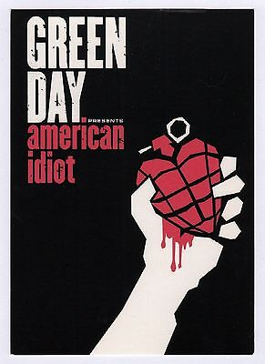 40x Green Day: American Idiot - Postcard (Lot of 40 Postcards)