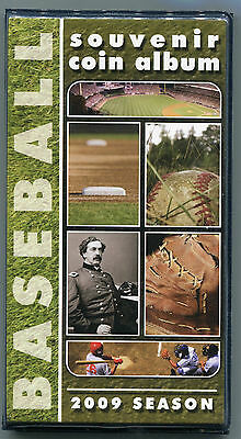Penny Book - Baseball 2009 - elongated cents - NEW BOOK