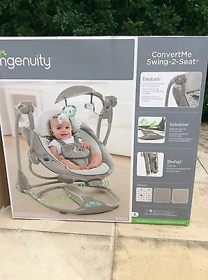 Ingenuity 2 In 1 Portable Swing Orson