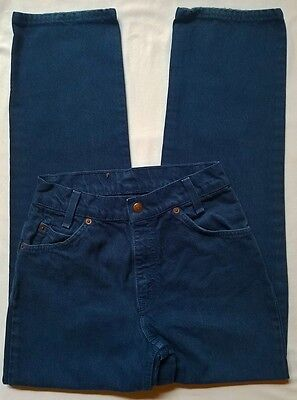 Vintage Boys Levis Relaxed Fit 550 Jeans - Orange Tab Sz 12/14 - Waist 26""