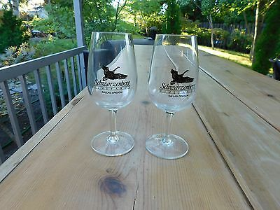 Schwarzenberg Vineyards Wine Glasses Dallas Oregon