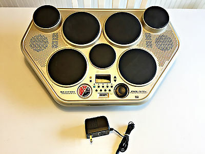 Yamaha DD-55C Digital Portable Electronic Drum w/ AC Adapter Tested