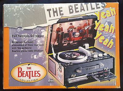 The Beatles Official Apple Pick Up Cd Player And Radio Brand New In Box Mint Nib