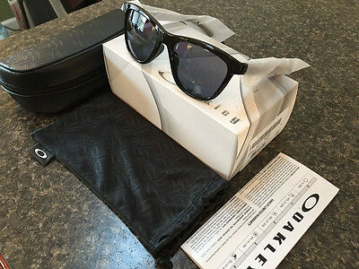 Oakley Moonlighter Sunglasses Polished Black W/ Grey Womens 9320-01 BRAND NEW