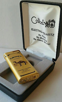Camel lighter Butane By Colibri 1990's RJR RARE Limited Edition collectible New